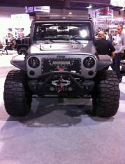 Gray Grey Jeep Wrangler SEMA 2013 Global High Performance Wholesale distributors