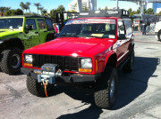Red Jeep Cherokee SEMA 2013
