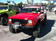 Red Jeep Cherokee SEMA 2013