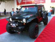 Spyder Performance Jeep Wrangler LED light bar by GHP SEMA 2013