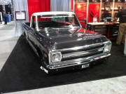 Lowrider Chevy C10 Pickup at SEMA 2013 by GHP