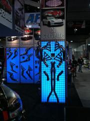 American Racing Headers C& Corvette Exhaust at SEMA 2013 by GHP