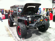 Jeep Wrangler SEMA 2013 Global High Performance Winch