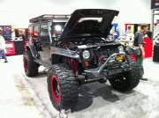 Jeep Wrangler SEMA 2013 Global High Performance Winch