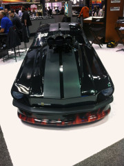 Ford Mustang Pro Mod at PRI 2013 by Global High Performance wholesale distributors