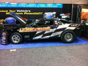 Lingenfelter Chevy Camaro EFI live booth 2013 PRI by GHP