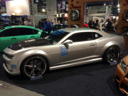 SEMA 2014 silver Camaro Concept one wheels GHP Global High Performance
