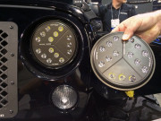 Putco Luminix High Power LED headlights SEMA 2014 Jeep Wrangler