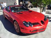Red Mercedes SEMA 2014