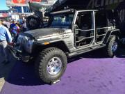 SIlver Jeep Wrangler SEMA 2014 GHP