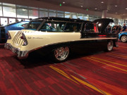 Chevy Bel Air Station Wagon 1955 SEMA 2014 Global High Performance
