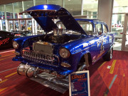 SEMA 2014 Chevy Bel Air Gasser Asphaly Animal Steve Carpenter Hot Rod Global High Performance