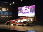 Mopar 2015 Charger R/T Funny Car drag racing unveil SEMA 2014 Global High Performance Auto Parts Distributors