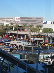 Outside at SEMA 2013 Las Vegas, with Global High Performance