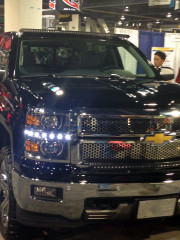Putco Headlight LED Dayliner SEMA 2013 GHP