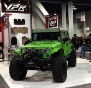 Jeep Wrangler 4x4 off road SEMA 2013 GHP