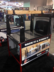 Bak Industries Bakflip CS Cargo rack tonneau cover SEMA 2013 Global High Performance