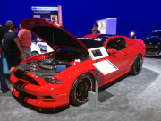 2014 Ford Mustang Nitto booth SEMA 2013 by GHP