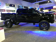 Ram Mega Cab Monster truck SEMA 2013 Global High Performance