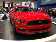@015 new model Ford Mustang red at 2013 PRI GHP