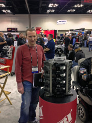 Chad Golen with DART LS Next Engine by global high performance