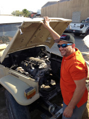Hisham Ebrahim Toyota Landcruiser Ls engine swap Global High Performance visit to the Middle East