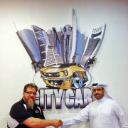 City Car Qatar sign Jordan troggio Bader Al-Sulaiti Global High Performance visit to the Middle East