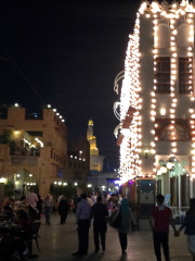 Souk Waqif at night Doha, Qatar Global High Performance visit to the Middle East