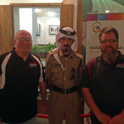 Abu Dhabi police Global High Performance visit to the Middle East