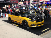 Gibson Exhaust 2015 Mustang 2014 SEMA Global High Performance