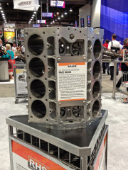 RHS Racing Head Services Aluminum LS race Block engine SEMA 2014 Global High Performance