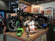 Workshop Hero metal rescue dry coat Vincent black shadow SEMA 2014 Global High performance