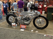 Hazan supercharged Iron Head ironhead Workshop hero booth SEMA 2014