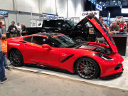 Red Lingenfelter custom C7 Corvette chevy SEMA 2014 Global High Performance