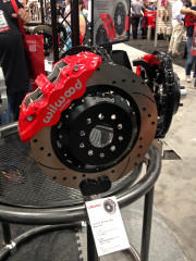 Wilwood Aerolite Front Big Brake Kit SEMA 2014 Race Brakes Global High Performance