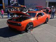 Orange Dodge Challenger SEMA 2014 Global High Performance