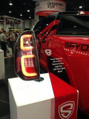 Spyder lighting LED Light bar lightbar Tail light Toyota Tundra SEMA 2014 Global High Performance
