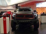 SPyder LED Light bar lightbar projection headlights Toyota tundra SEMA 2014 Global High Performance