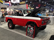 Painless 1970 70 Ford Bronco SEMA 2014 GHP