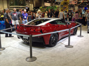 Paul Stanley concept chevy C7 Corvette SEMA 2014 KISS rocker GHP