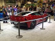 Paul Stanley concept chevy C7 Corvette SEMA 2014 KISS rocker GHP