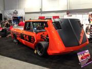 Orange Rush autocross Chevy C10 Bob Berteklson SEMA 2014 GHP