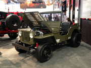 LSX willys Jeep Sema 2014 Rancho booth