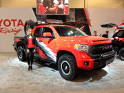 TRD Tundra Custom model Beautiful SEMA 2014