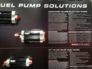 Holley Dominator in-line fuel pump SEMA 2014
