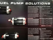 Holley Dominator in-line fuel pump SEMA 2014