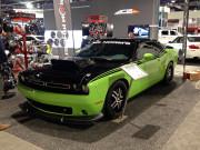 Dodge Challenger Green SEMA 2014 GHP