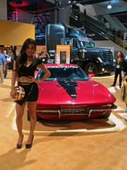 Continental tires soccer ball corvette SEMA 2014