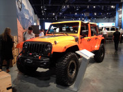 Jeep Wrangler orange SEMA 2014
