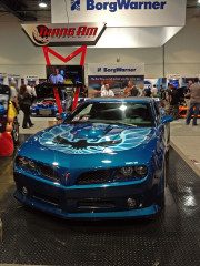 Blue Firebird SEMA 2014